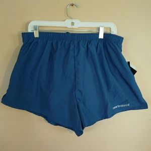 NWT New Balance Men's XL Blue Running Shorts